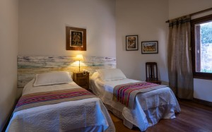 habitacion camas simples
